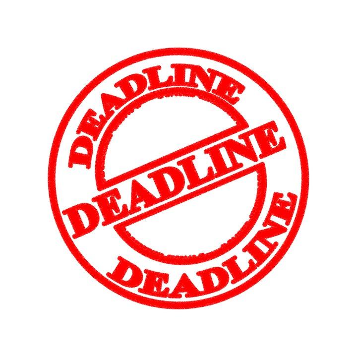 Meet a deadline