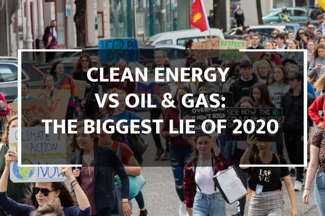 Clean Energy Vs. Oil & Gas: The Biggest Lie Of 2020