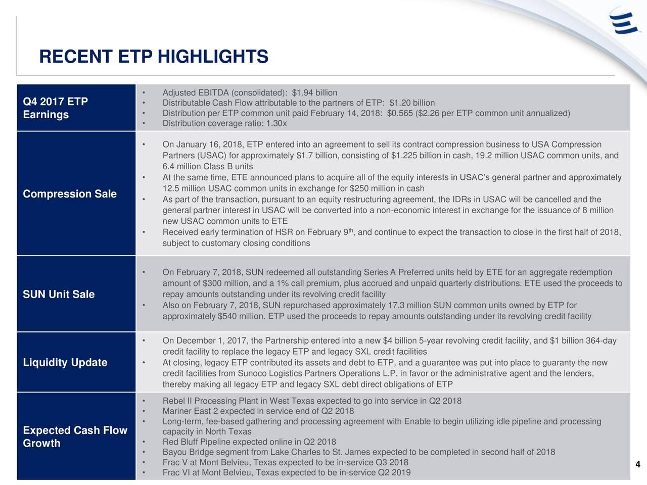 Energy Transfer (ETP) Presents At Morgan Stanley Utilities, Clean