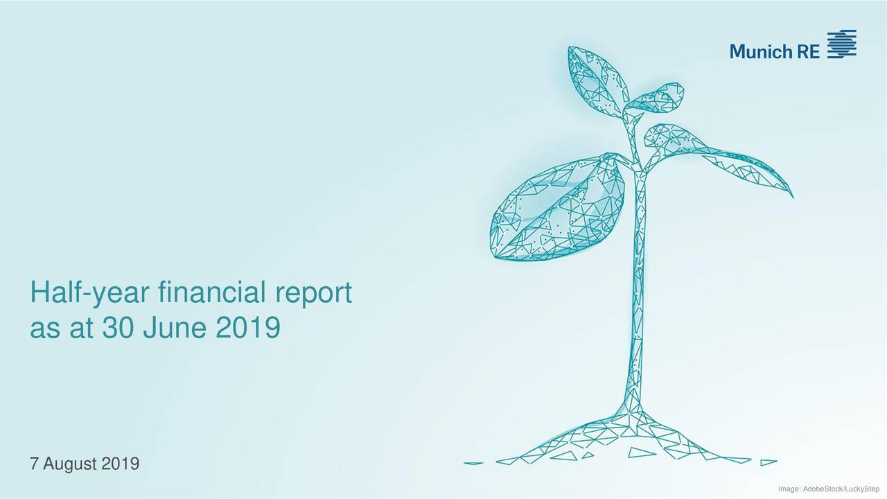 Half-year financial report