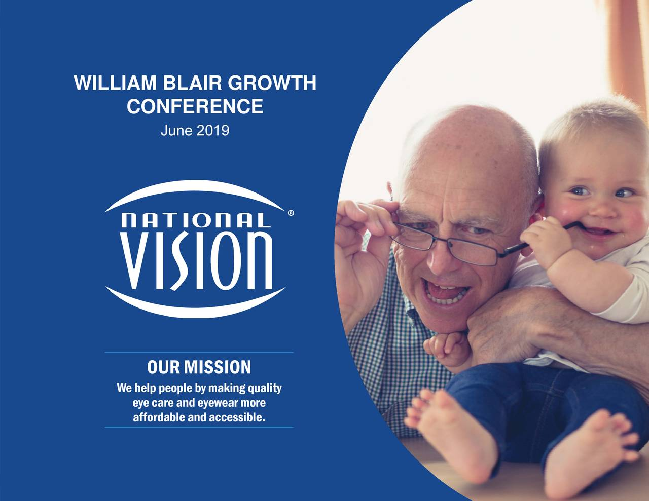 National Vision Holdings (EYE) Presents At William Blair Growth Stock Conference - Slideshow
