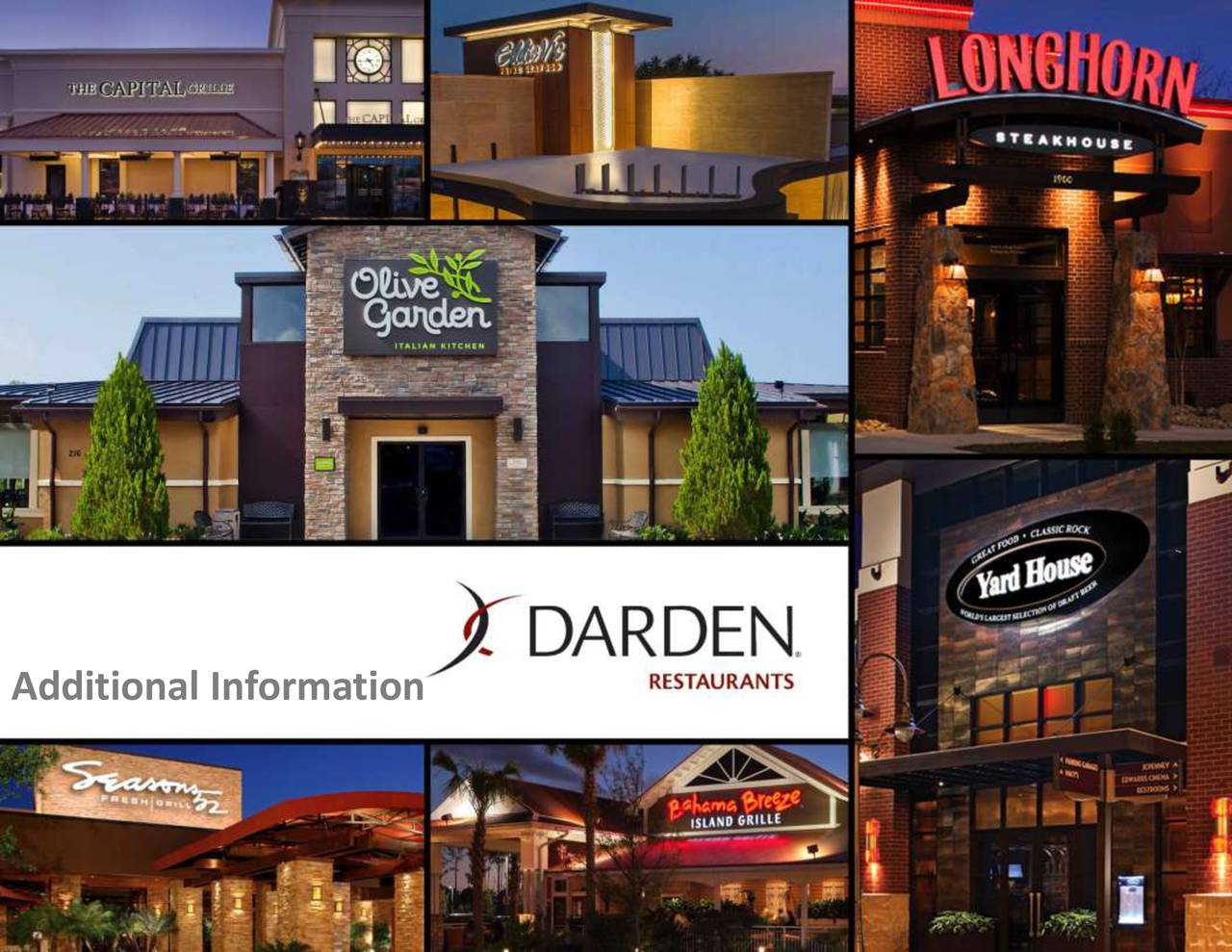 campany case 6 darden restaurants Fast company articles and posts tagged darden restaurants with a unique editorial focus on innovation in technology, leadership, and design.