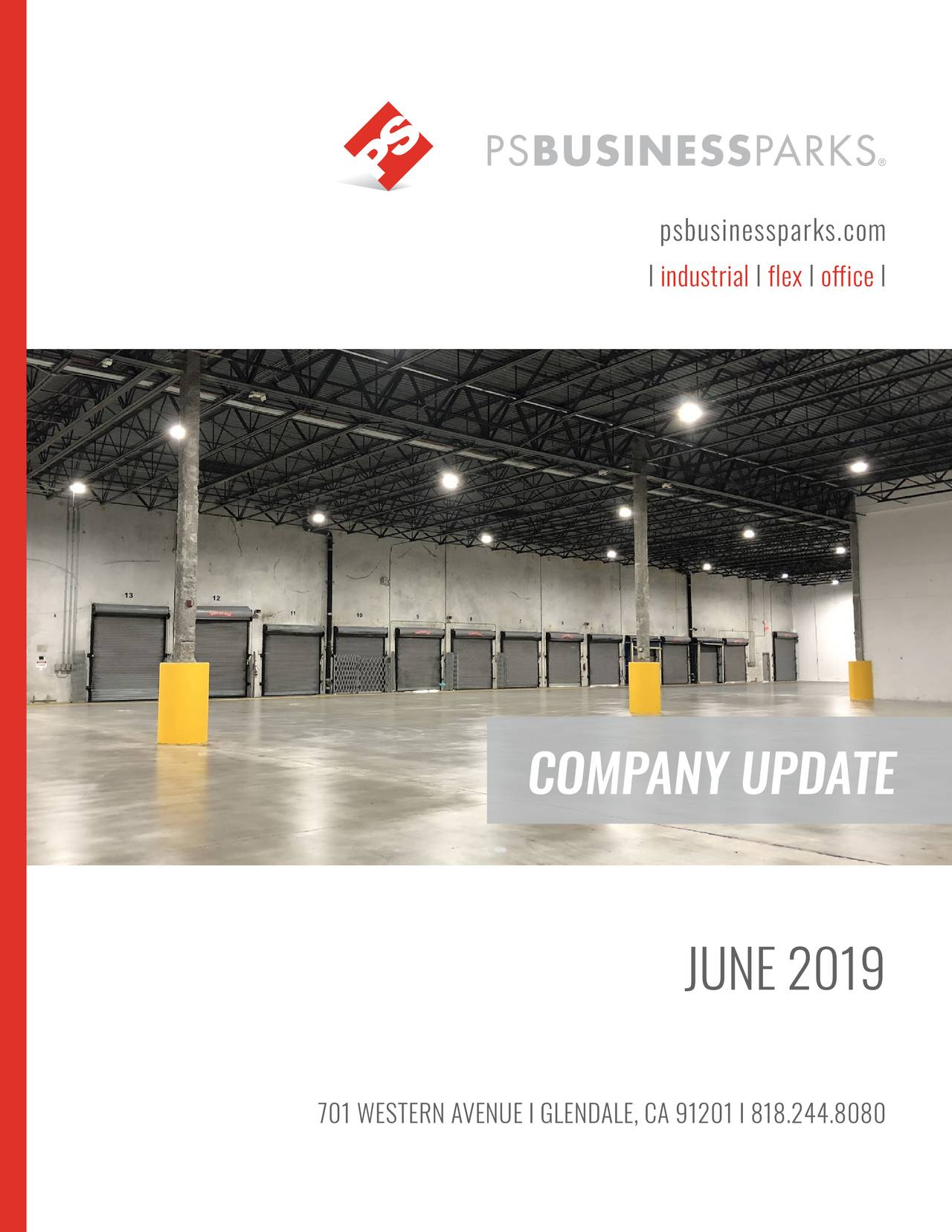 PS Business Parks (PSB) Presents At NAREIT 2019 Investor Conference - Slideshow