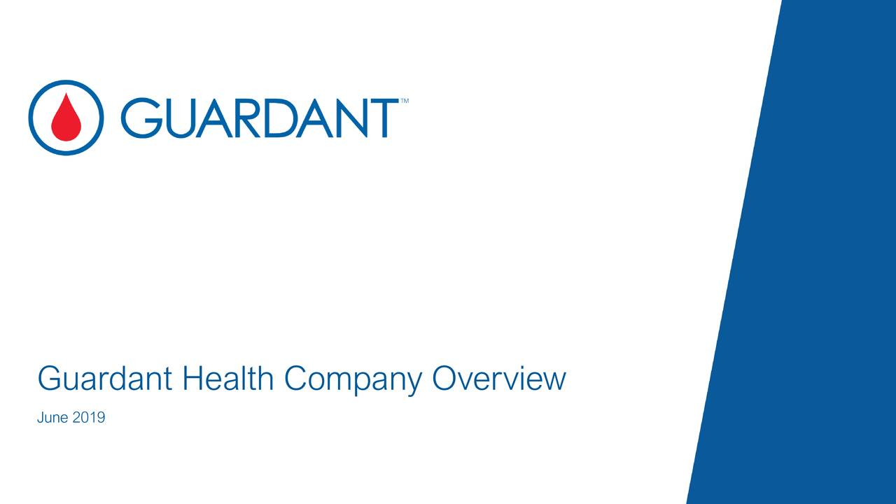 Guardant Health (GH) Presents At William Blair Growth Stock Conference - Slideshow