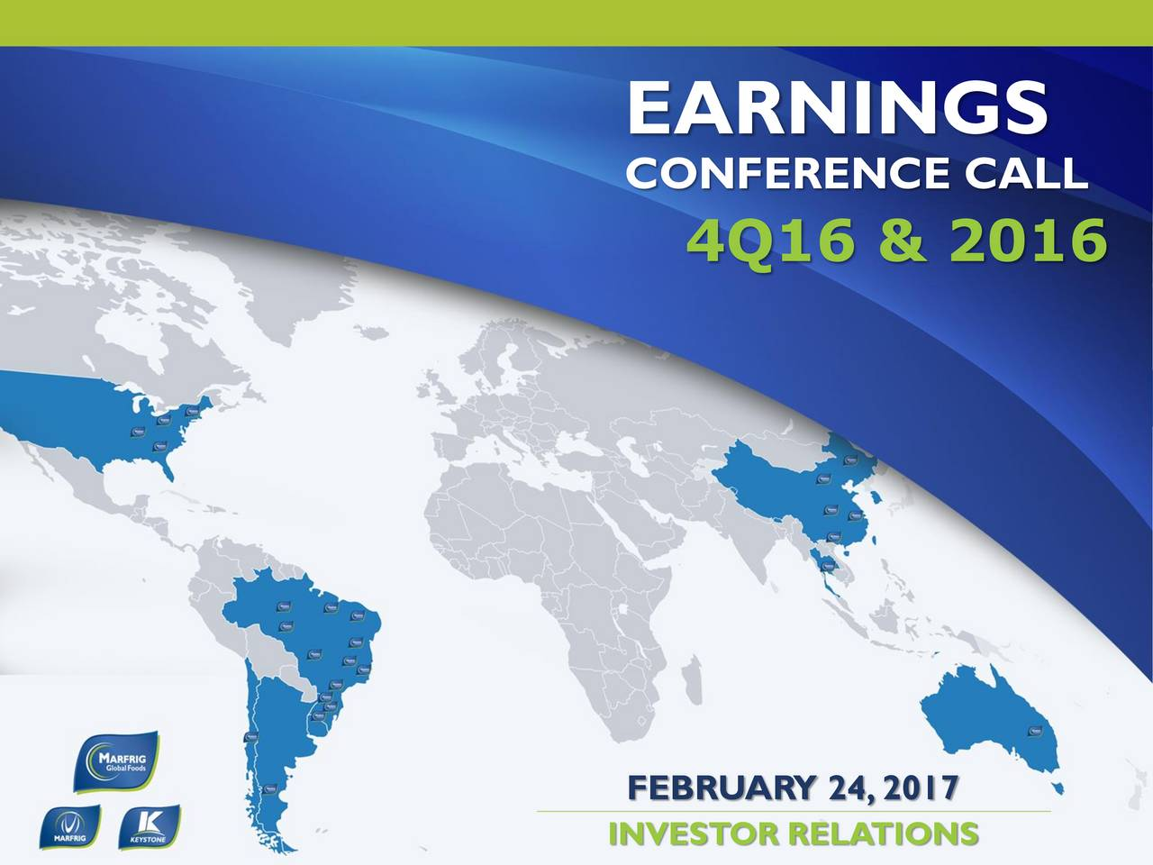 CONFERENCE CALL 4Q16 & 2016 FEBRUARY 24,2017