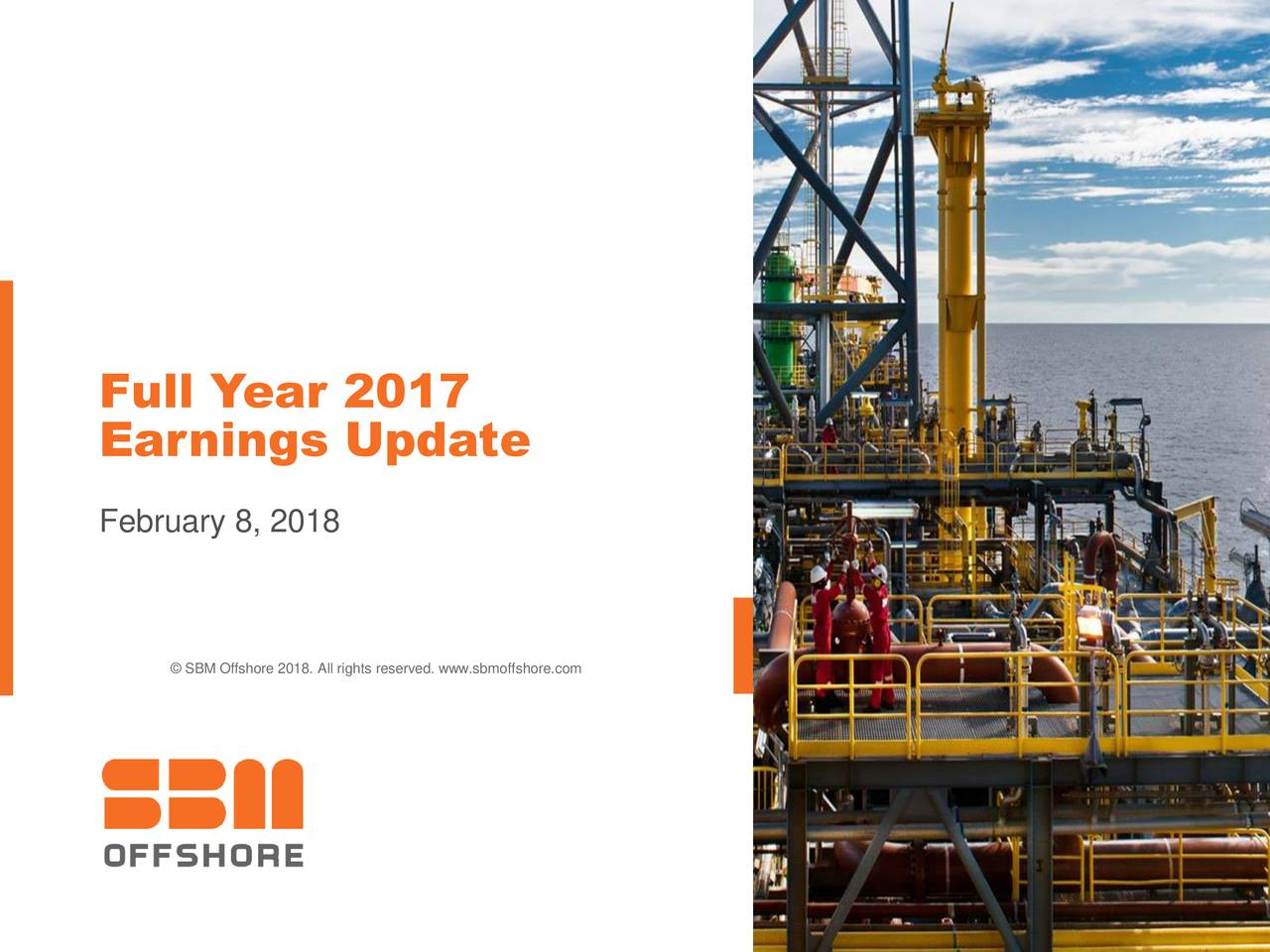 SBM Offshore NV ADR 2017 Q4 - Results - Earnings Call Slides