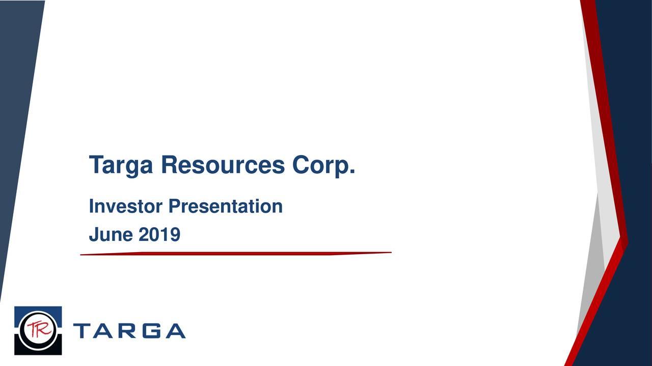 Investor Presentation June 2019