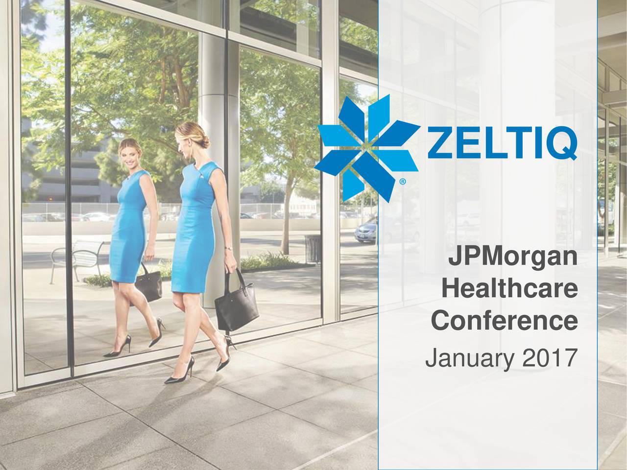 JPMorgan Healthcare Conference January 2017