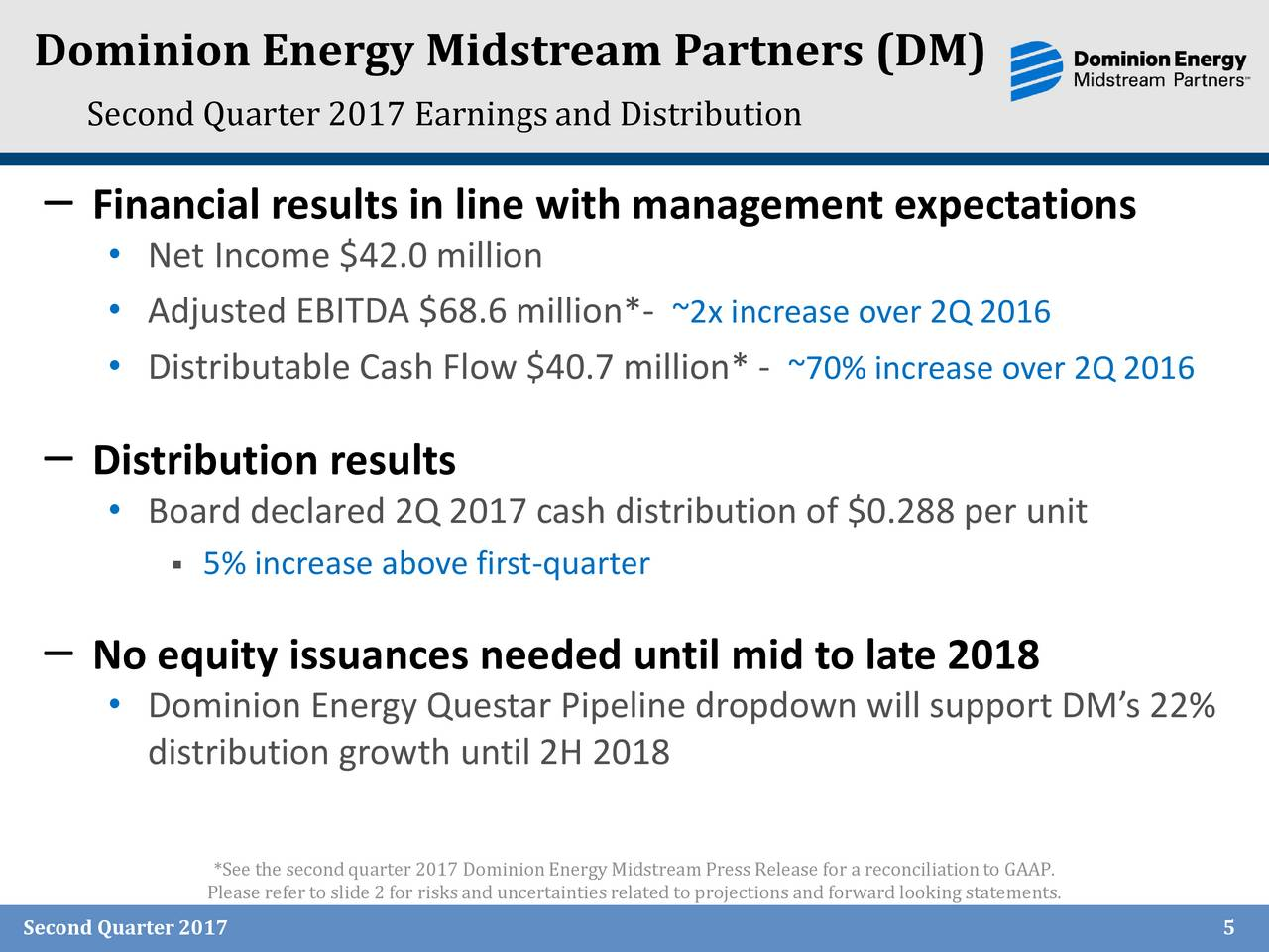 Dominion resources inc 2017 q2 results earnings call for Domon power release