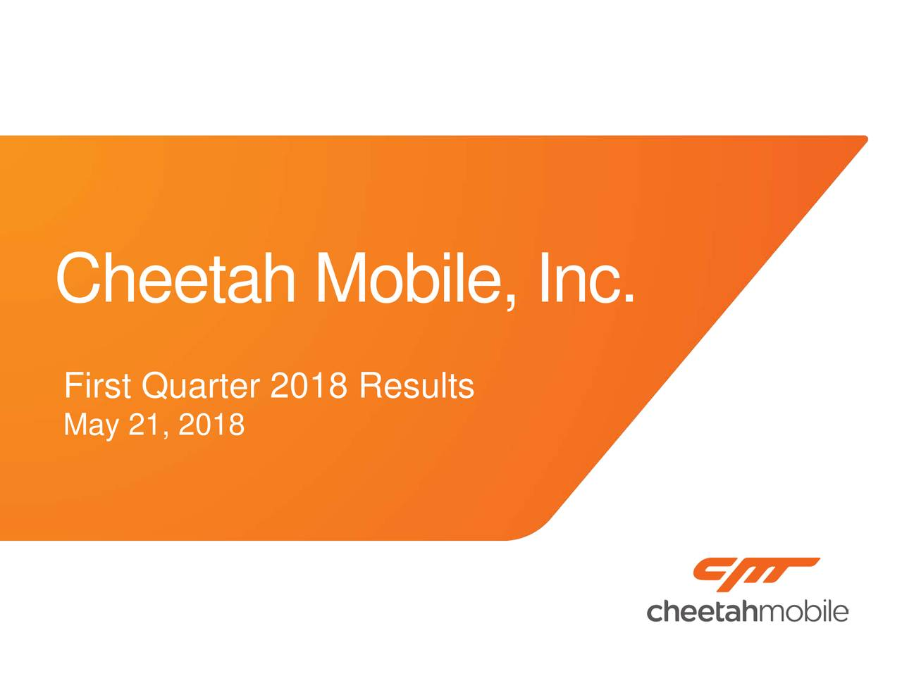 Cheetah mobile inc ipo