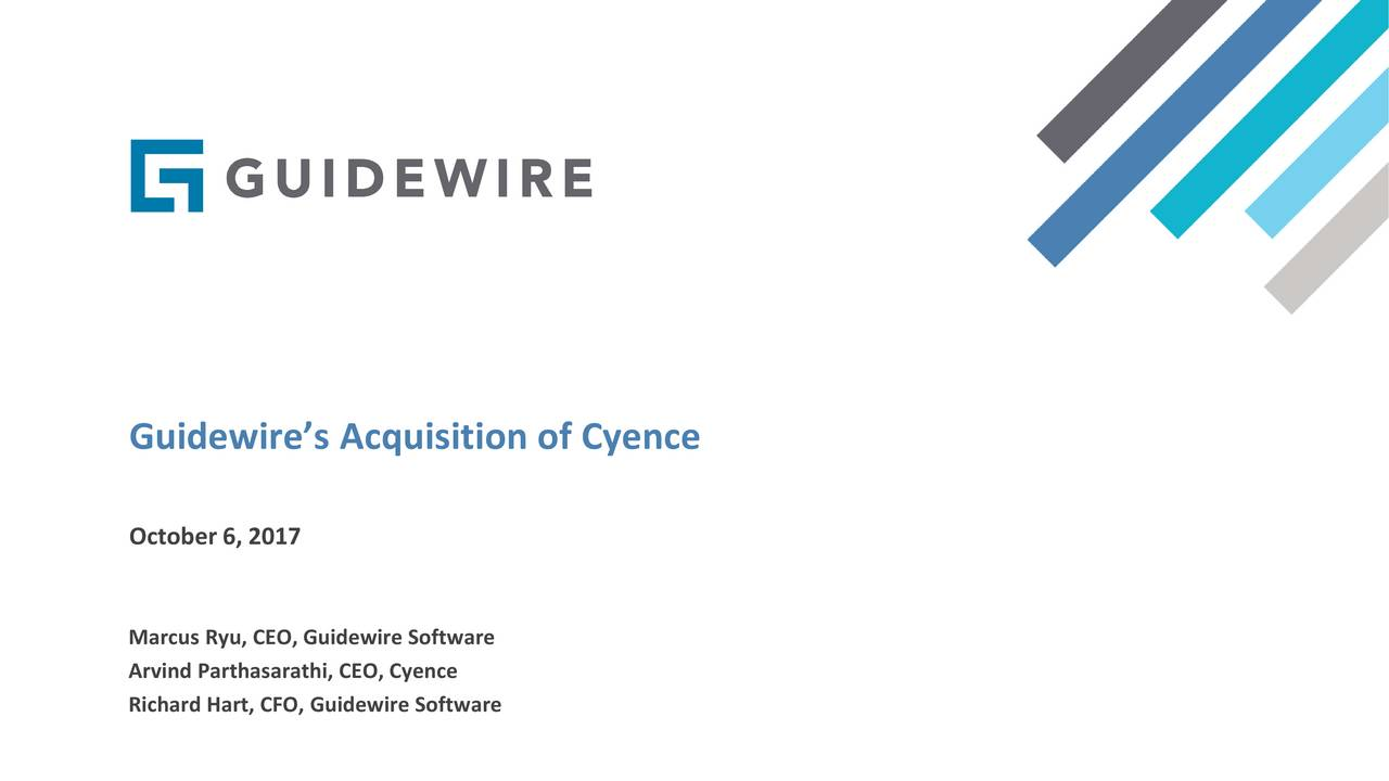 Guidewire software ipo valuation