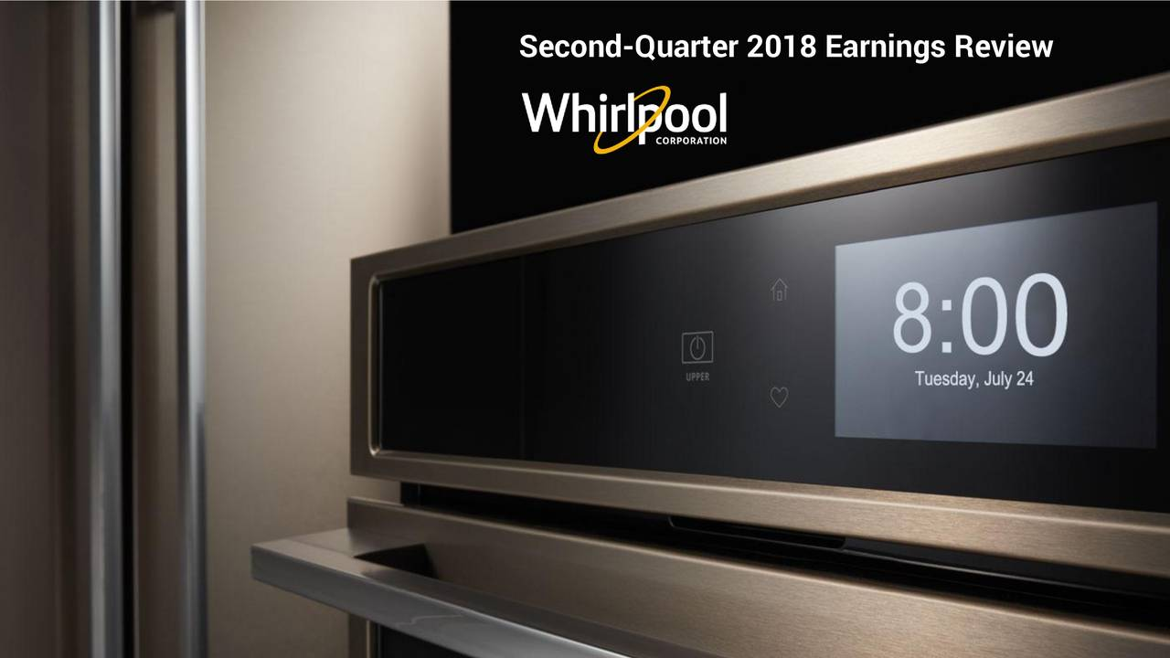 2018 | WhirlpoolCorporation Second-Quarter Earnings Review