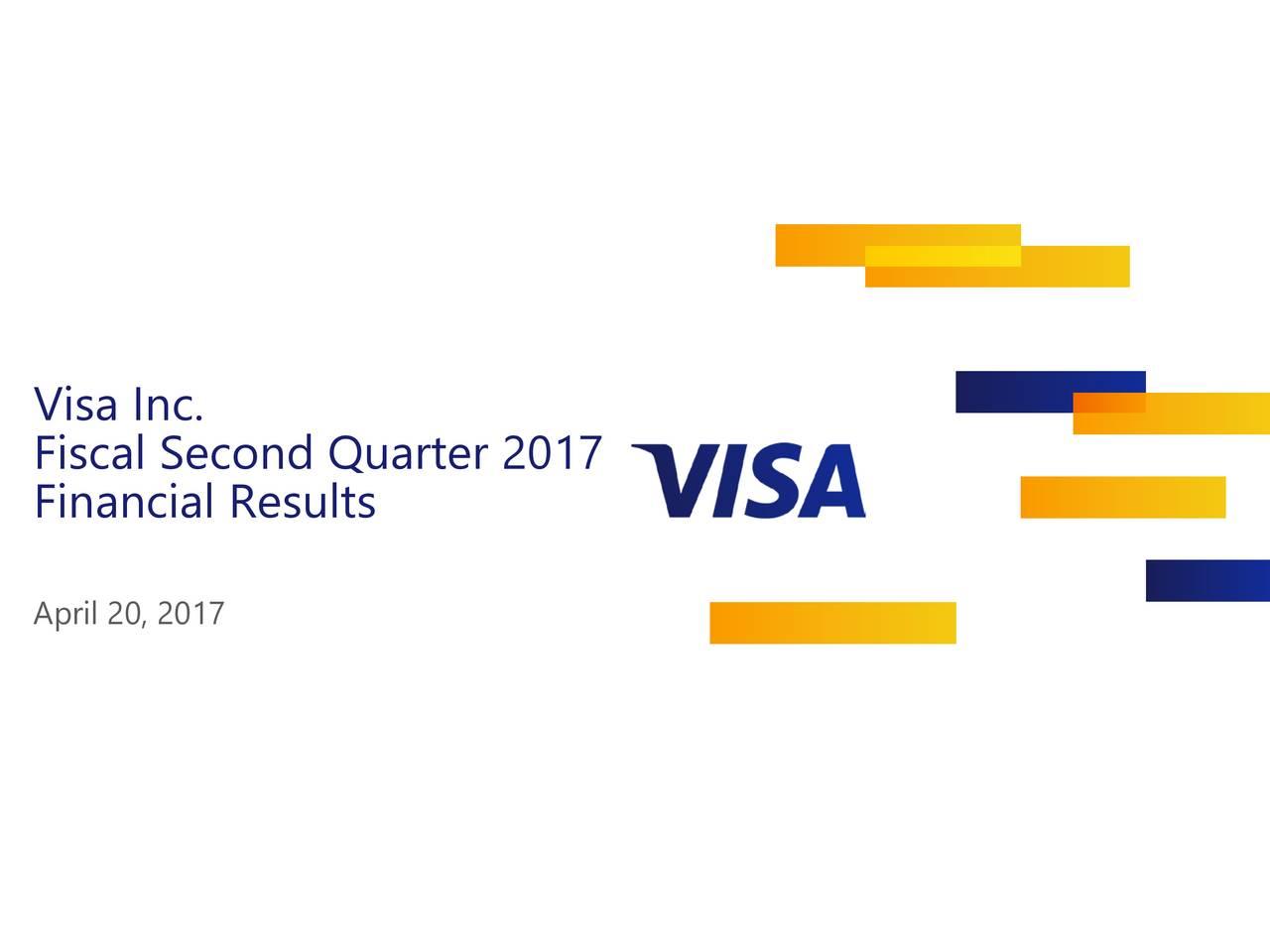 Fiscal Second Quarter 2017 Financial Results April 20, 2017