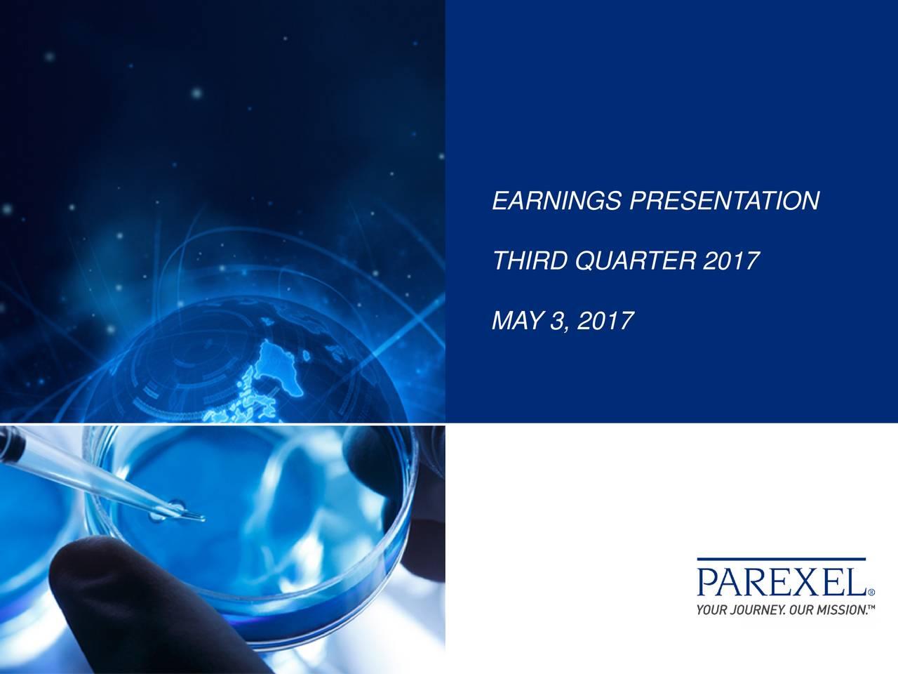 parexel international corporation 2017 q3