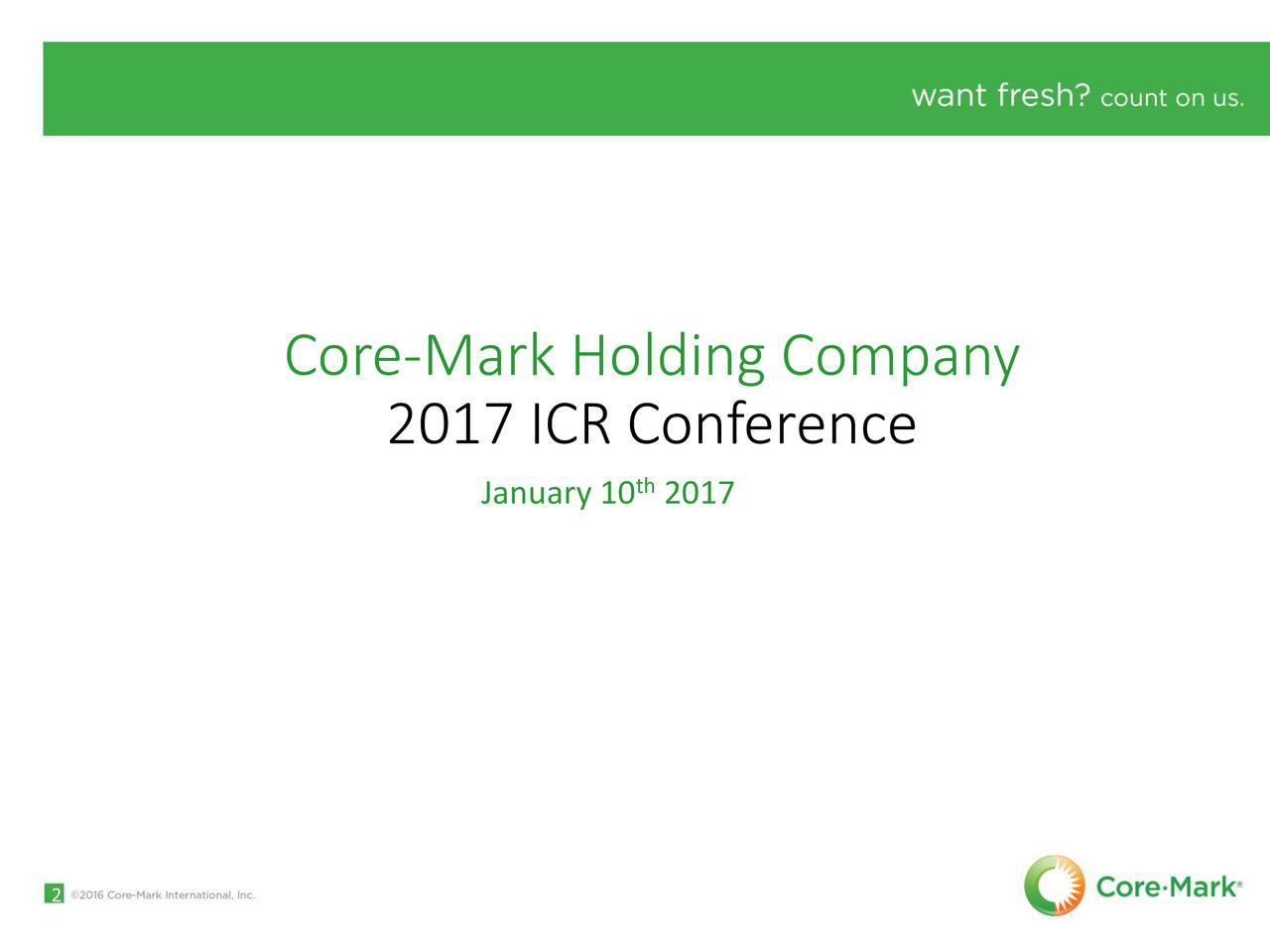 2017 ICR Conference January 10 2017 2