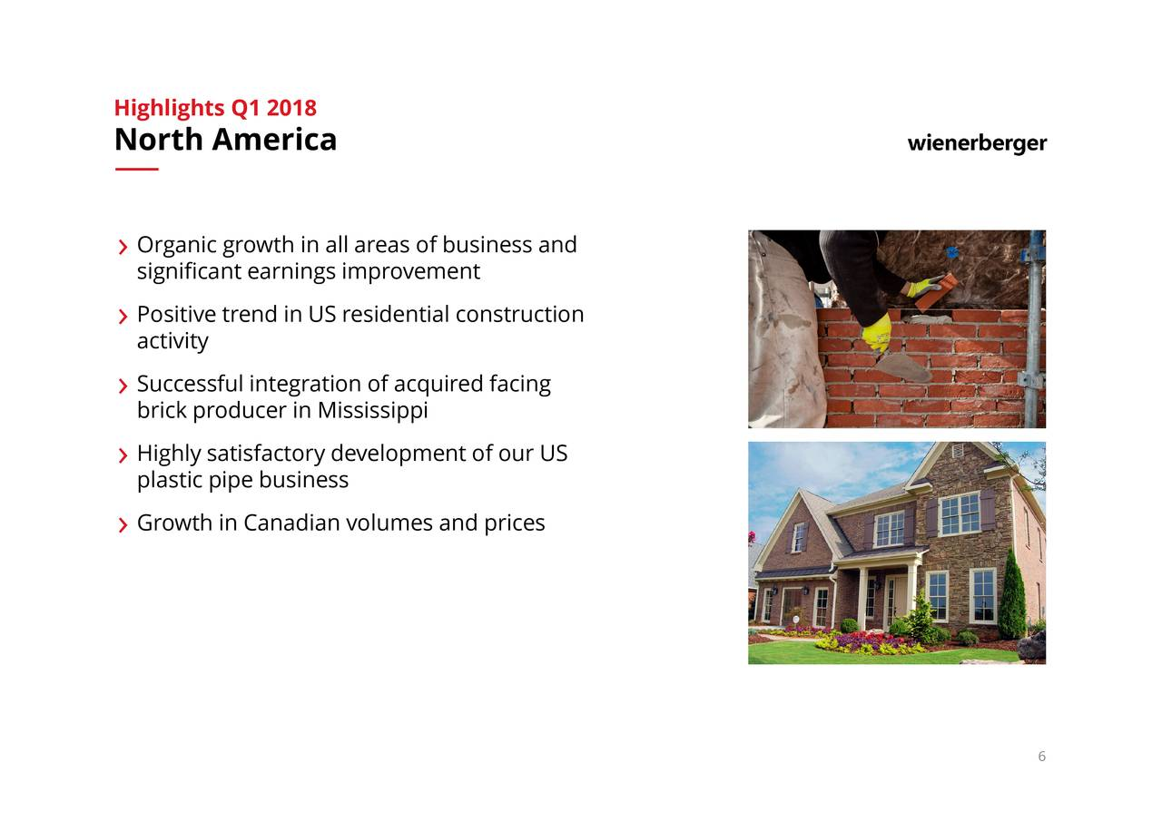 wienerberger baustoffindustrie ag Wienerberger is the world's largest producer of bricks and a leading supplier of clay roof tiles, concrete pavers and pipe systems in europe the wienerberger group operates in.