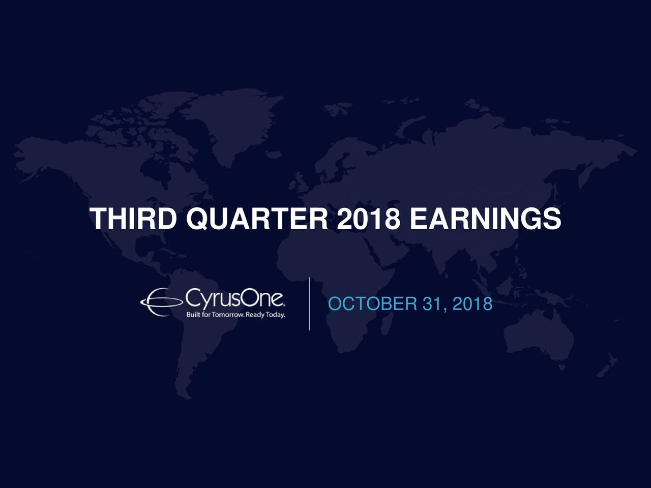 OCTOBER 31, 2018