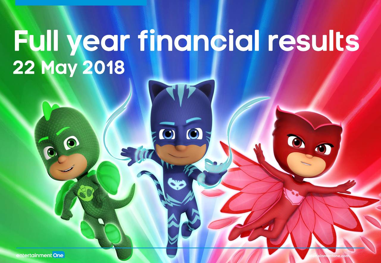 3d083f61be6 Entertainment One Ltd. 2018 Q4 - Results - Earnings Call Slides ...