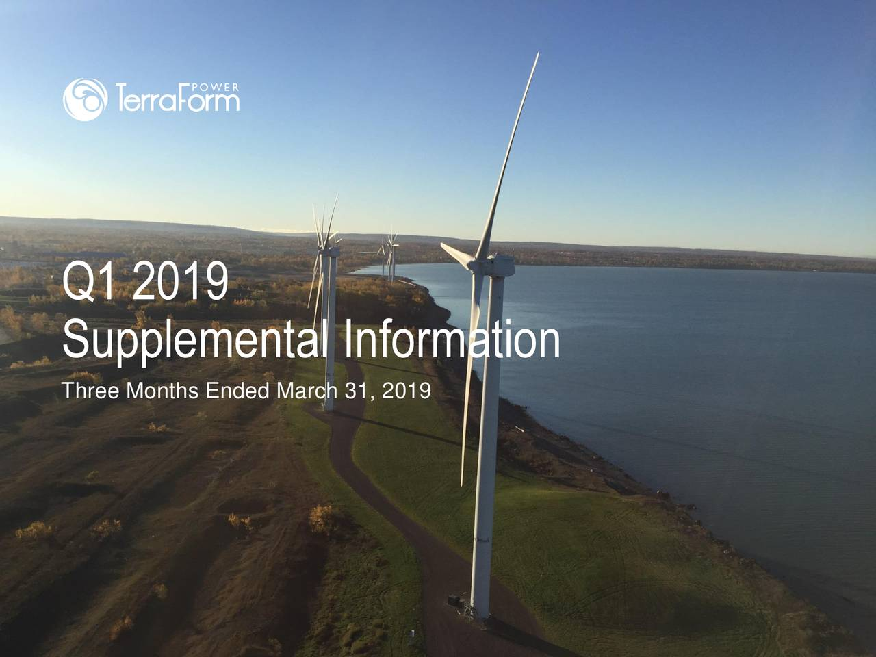 Supplemental Information Three Months Ended March 31, 2019