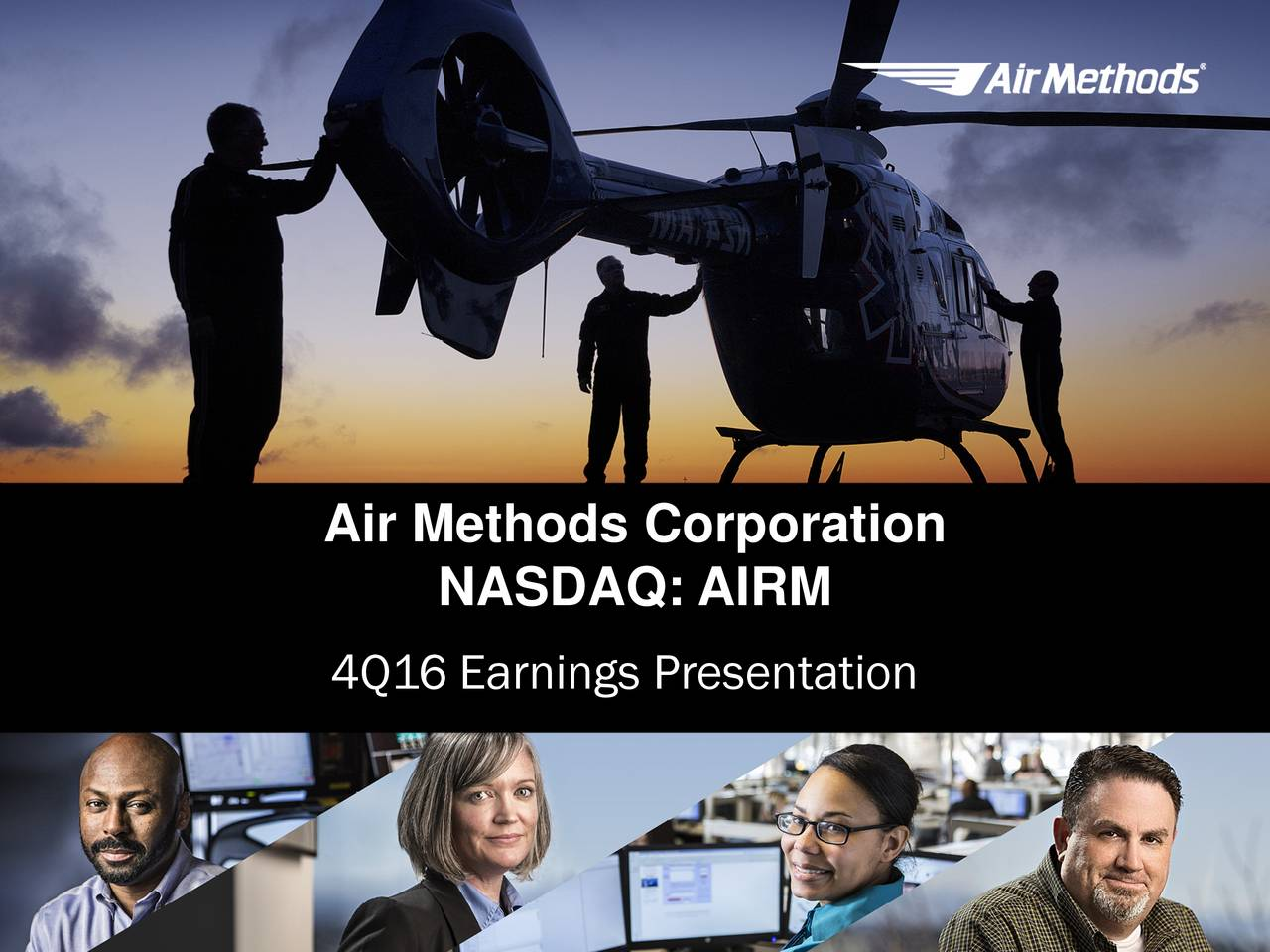 NASDAQ: AIRM 4Q16 Earnings Presentation