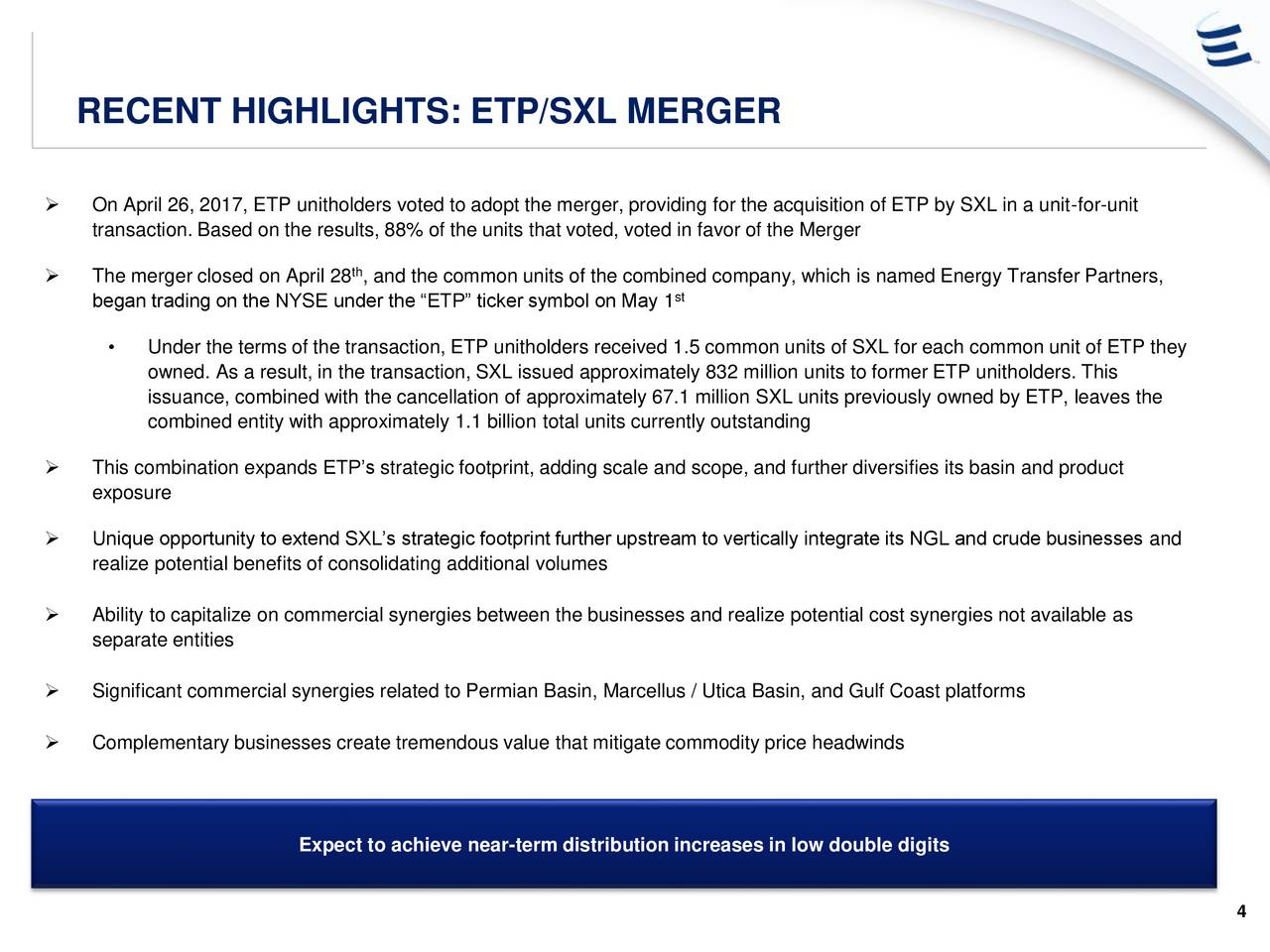Etp Stock Quote Energy Transfer Partners Etp Presents At Master Limited