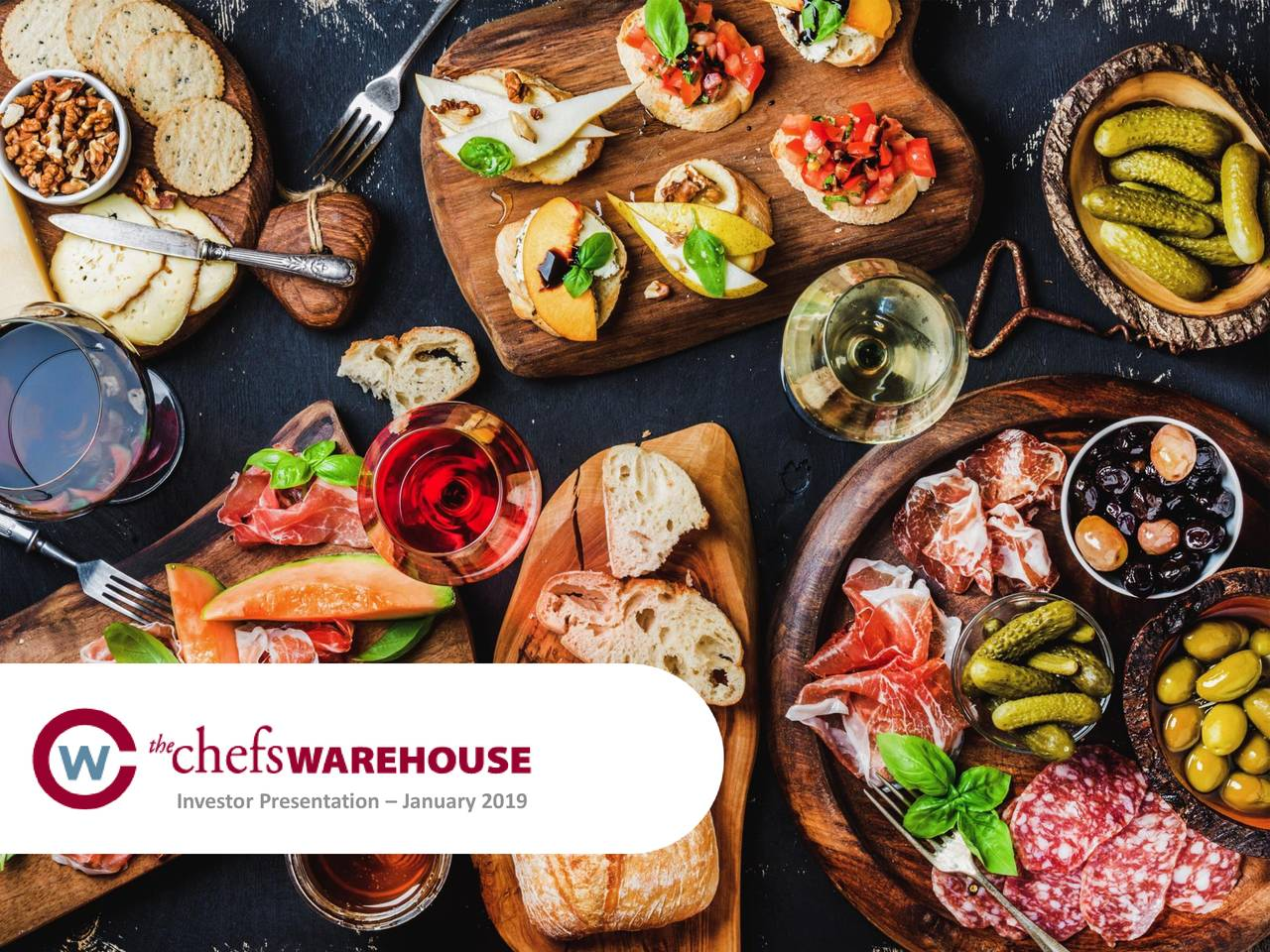Chefs' Warehouse (CHEF) Presents At 2019 ICR Conference