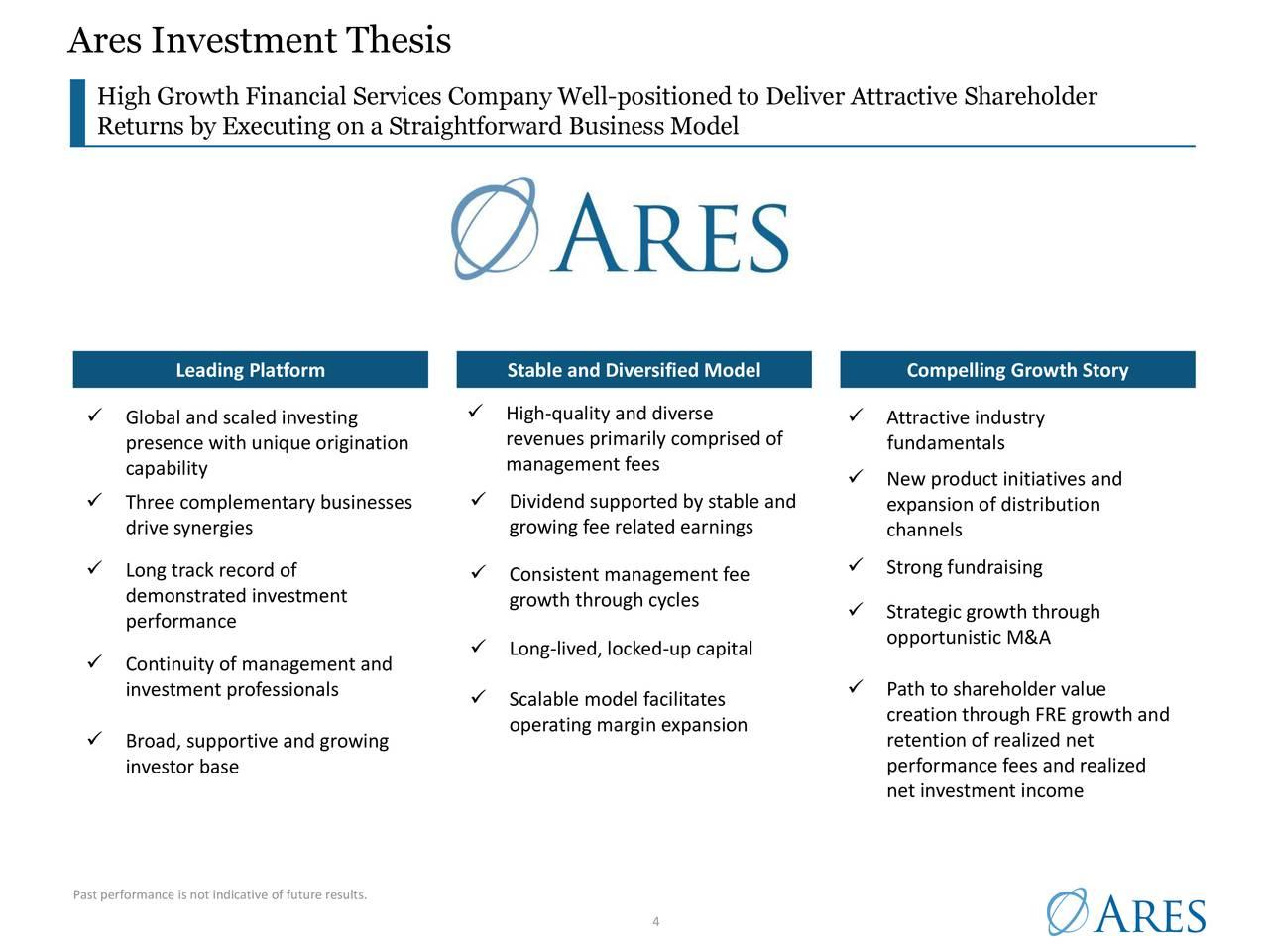 Tesis de Inversión Ares