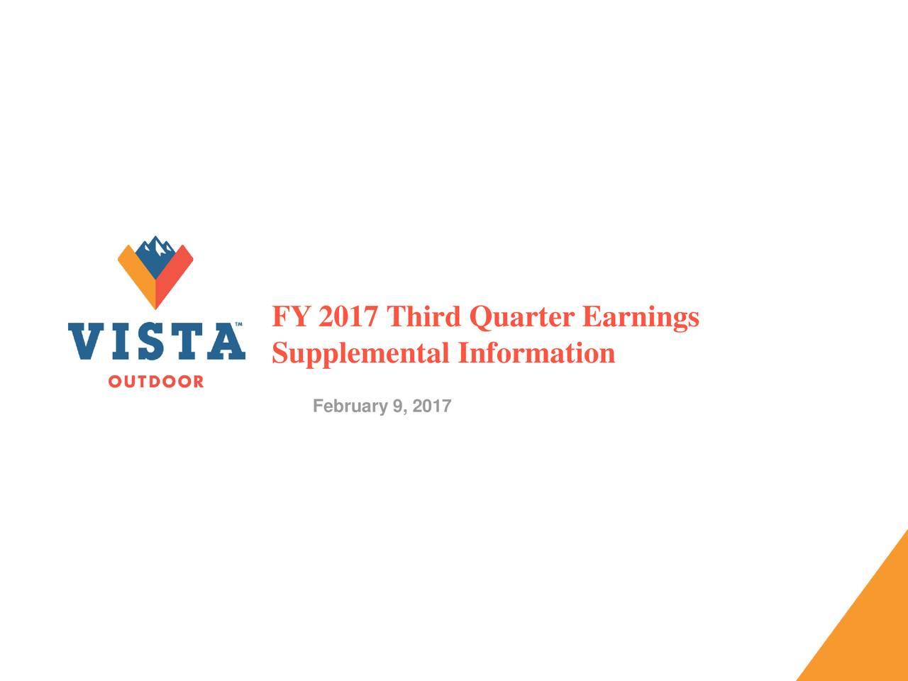 Supplemental Information February 9, 2017