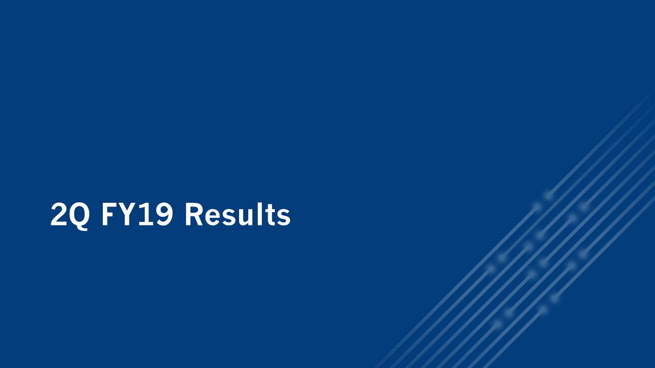 2Q FY19 Results