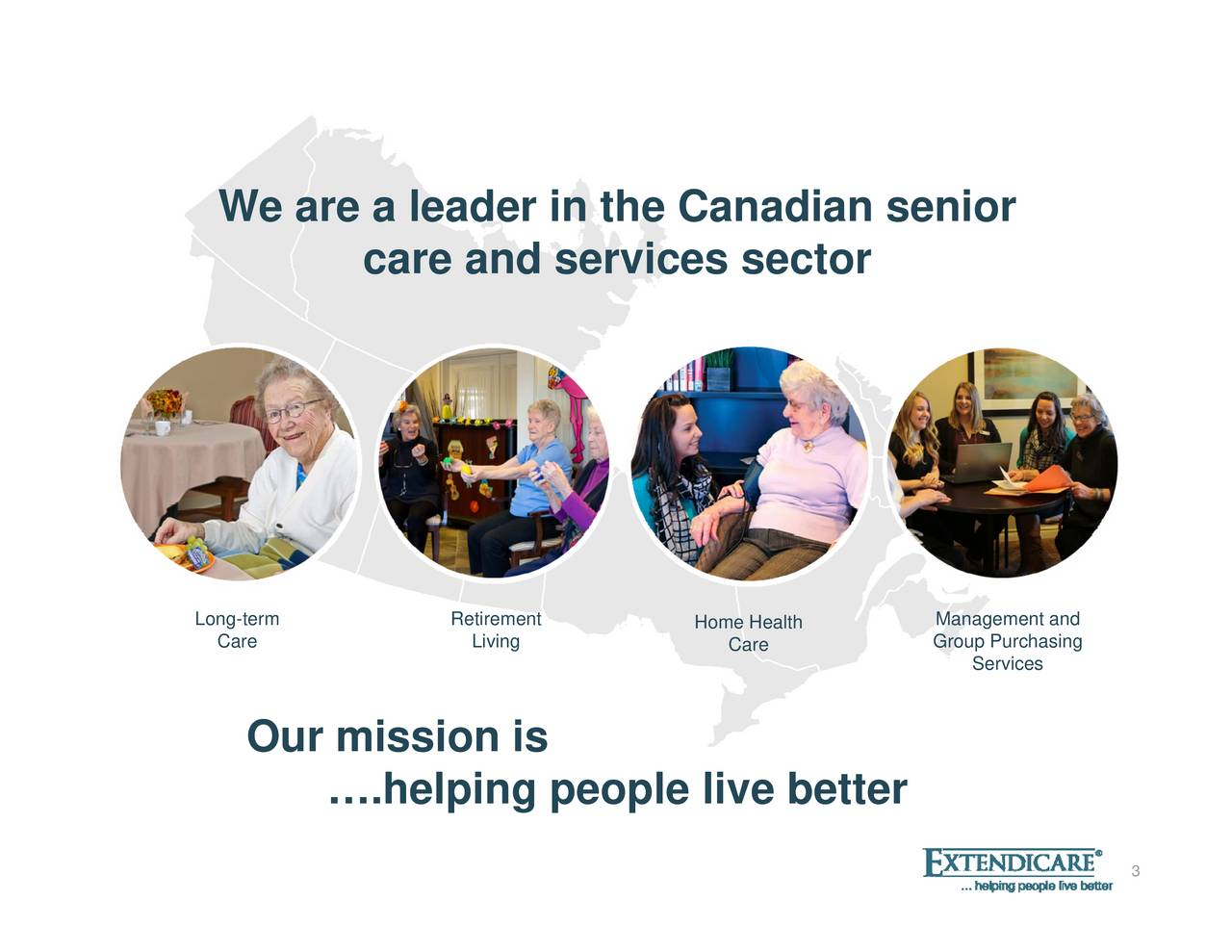 Services MGroup Purchasing er tt b Care ve Home Healthli l Living ig peop Retirement l hli lil bt care and services sector . Our mission is We are a leader in the CanCaren senior Long-term