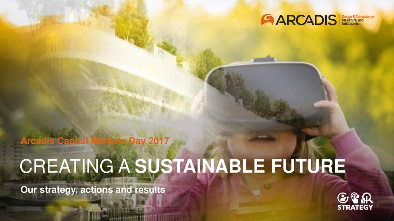 Arcadis arcvf investor presentation slideshow for Arcadis consulting