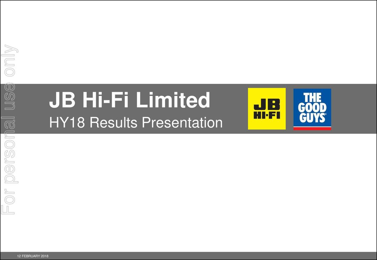 jb hi fi financial analysis Electronics retailer jb hi-fi has  jb hi-fi completes the acquisition of the  jb hi-fi raked in $395 billion of revenue for the 2016 financial.