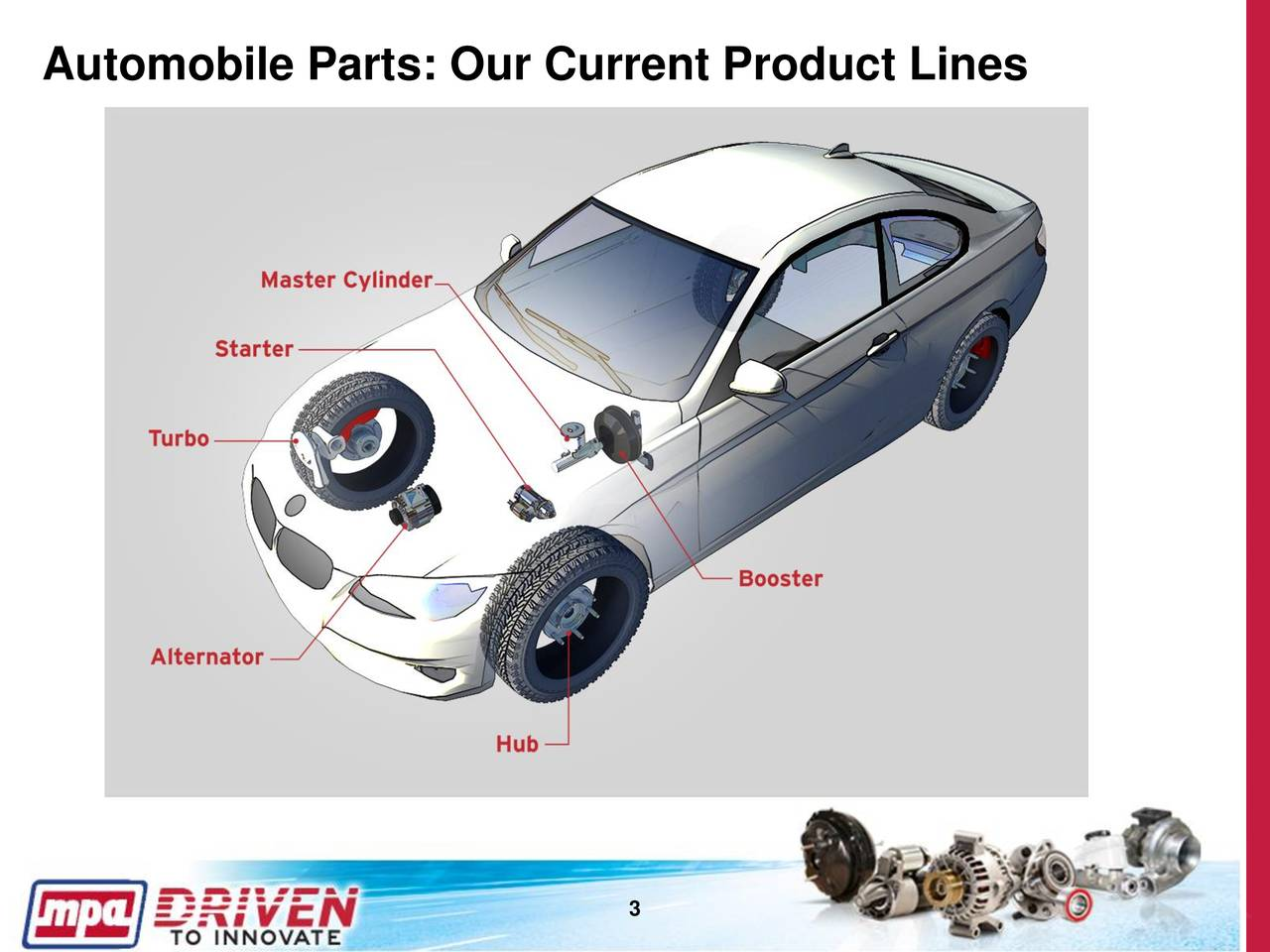 Motorcar Parts Of America Inc 2017 Q3 Results Earnings Call