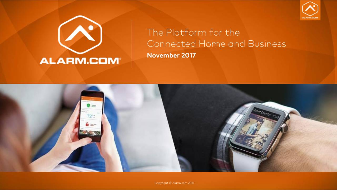 Connected Home and Business November 2017
