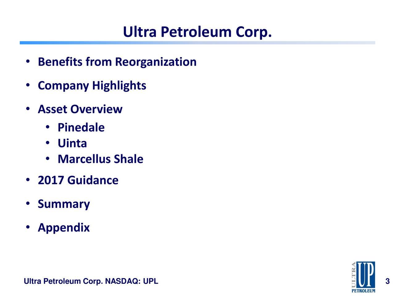 Ultra Petroleum (UPL) Presents At J P  Morgan Energy Equity