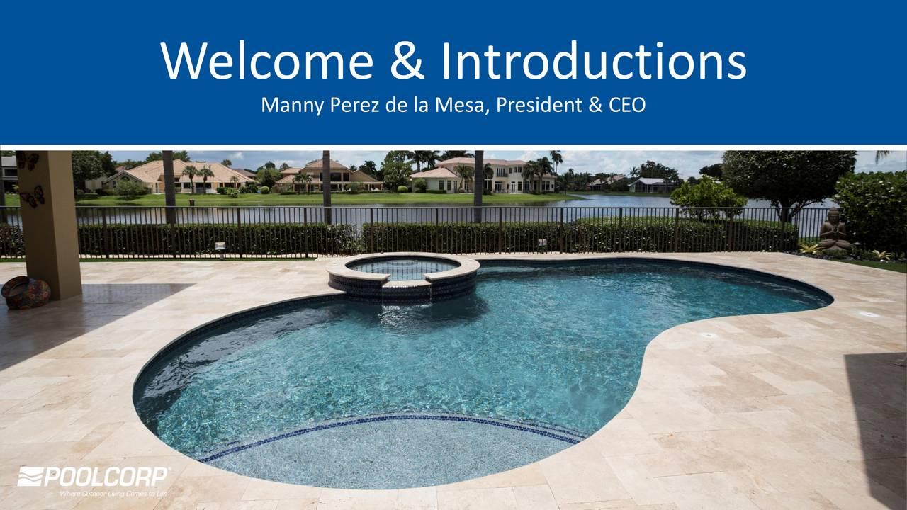Manny Perez de la Mesa, President & CEO