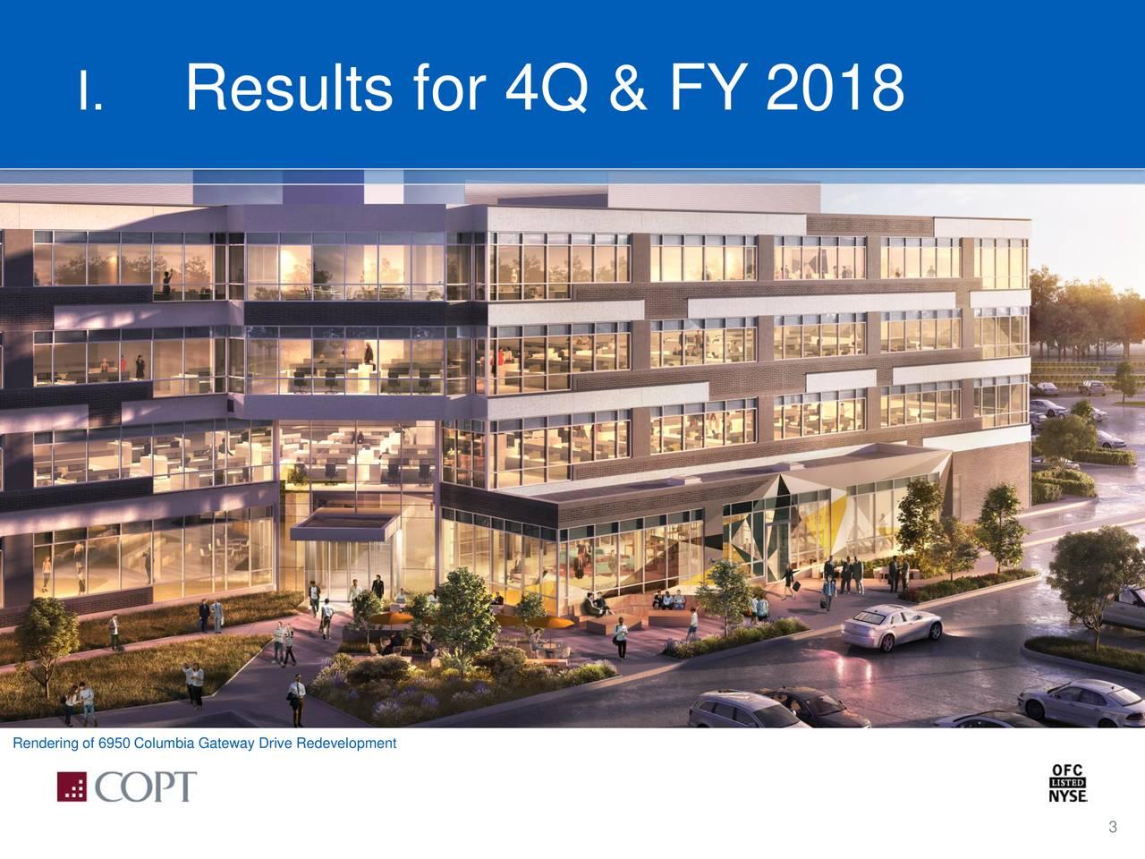Rendering of 6950 Columbia Gateway Drive Redevelopment 3
