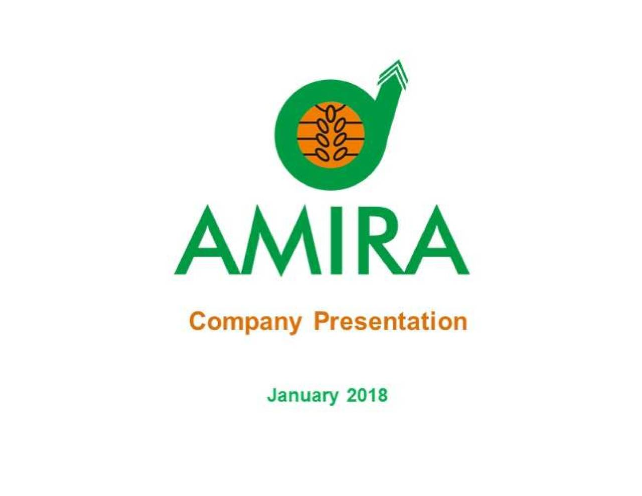 Amira Nature Foods Annual Report