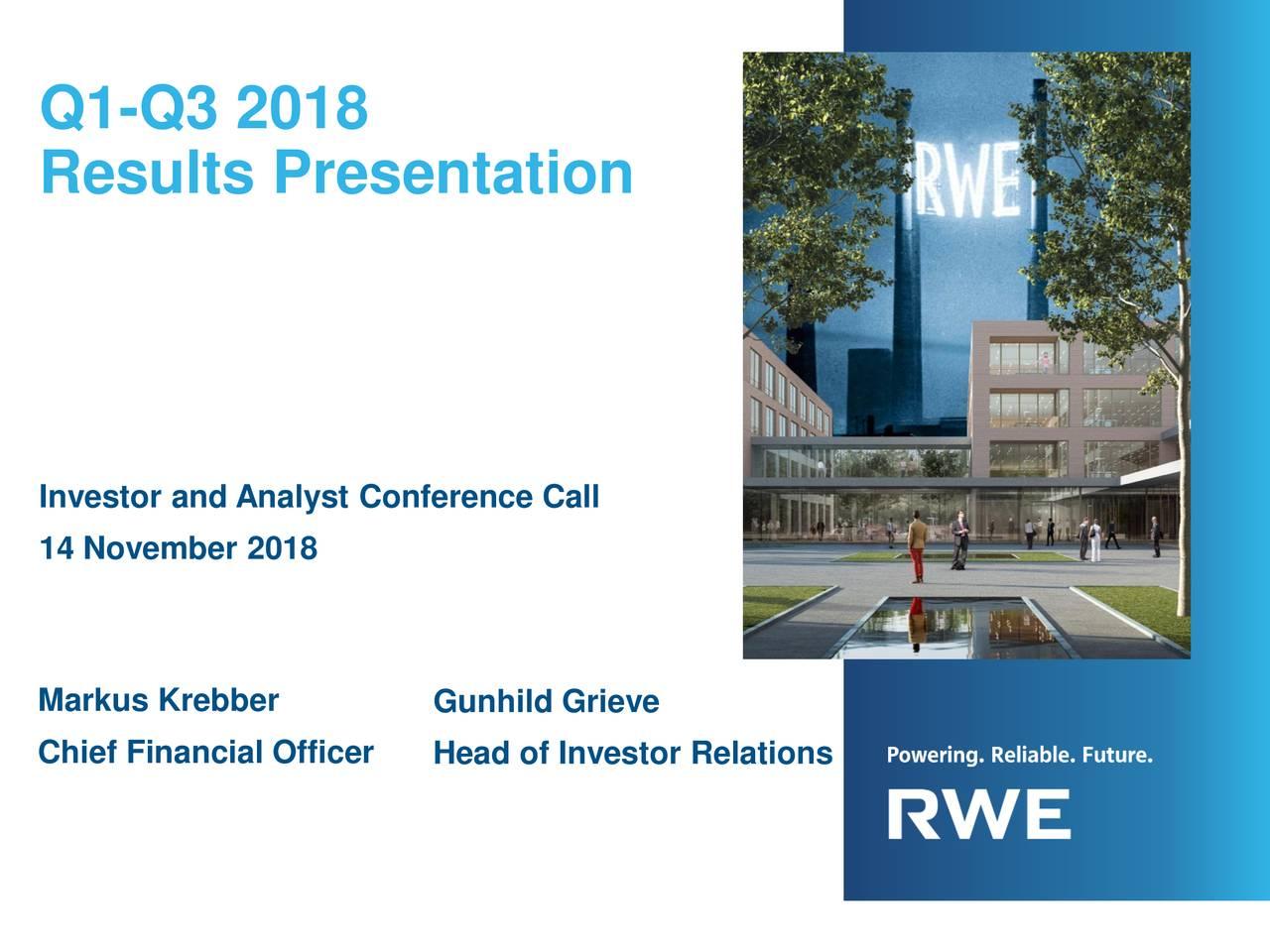 rwe investor relations
