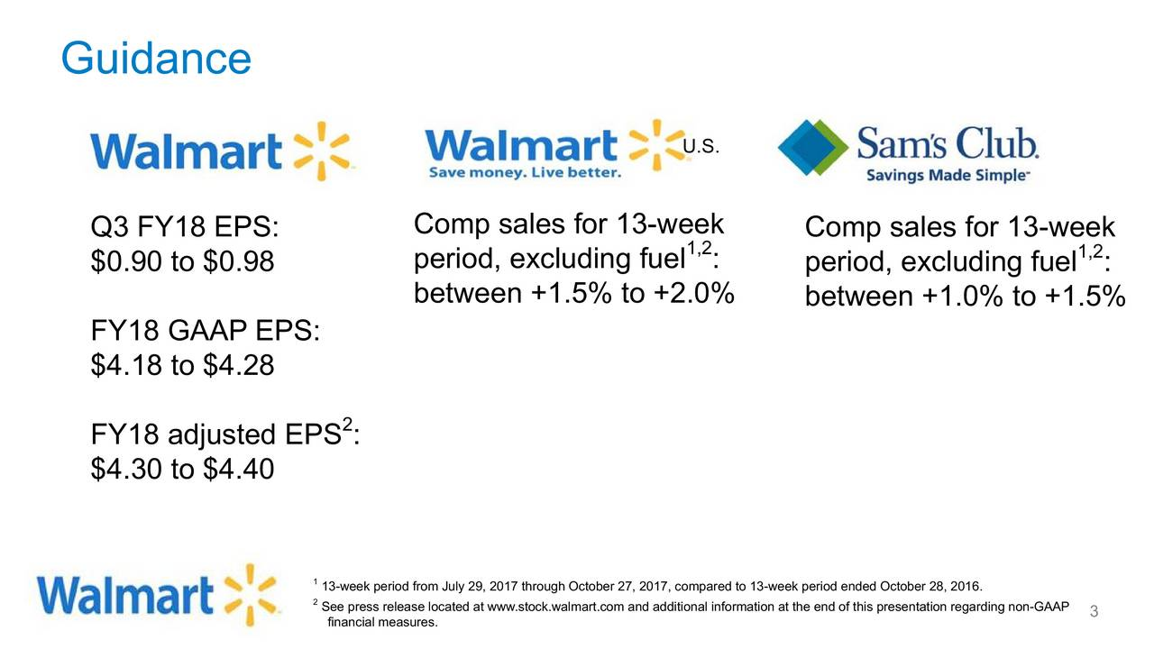 Wal-Mart Stores, Inc. 2018 Q2 - Results - Earnings Call Slides ...