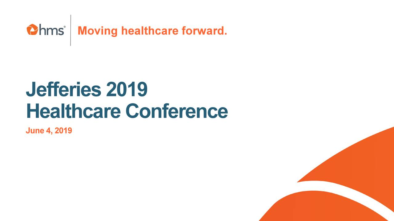 HMS Holdings (HMSY) Presents At 2019 Jefferies Global Healthcare Conference - Slideshow