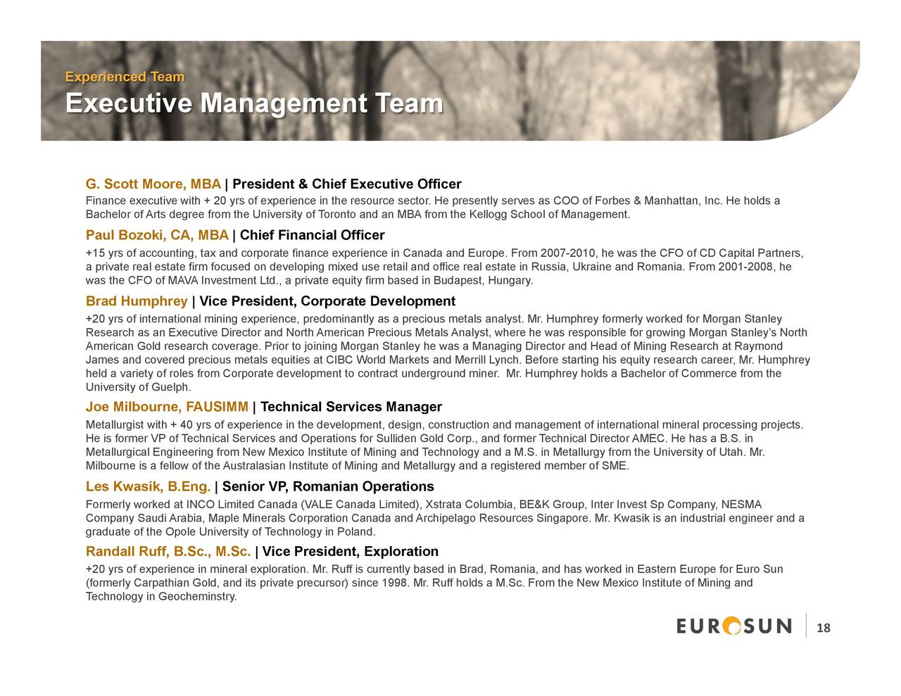 Real Art Design Group Inc : Euro sun mining cpnff presents at precious metals