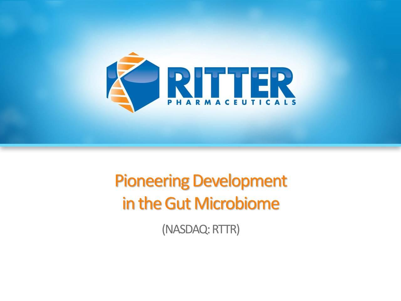 Ritter Pharmaceuticals (RTTR)