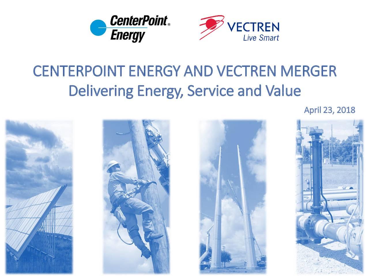 Delivering Energy, Serviceand Value April23, 2018