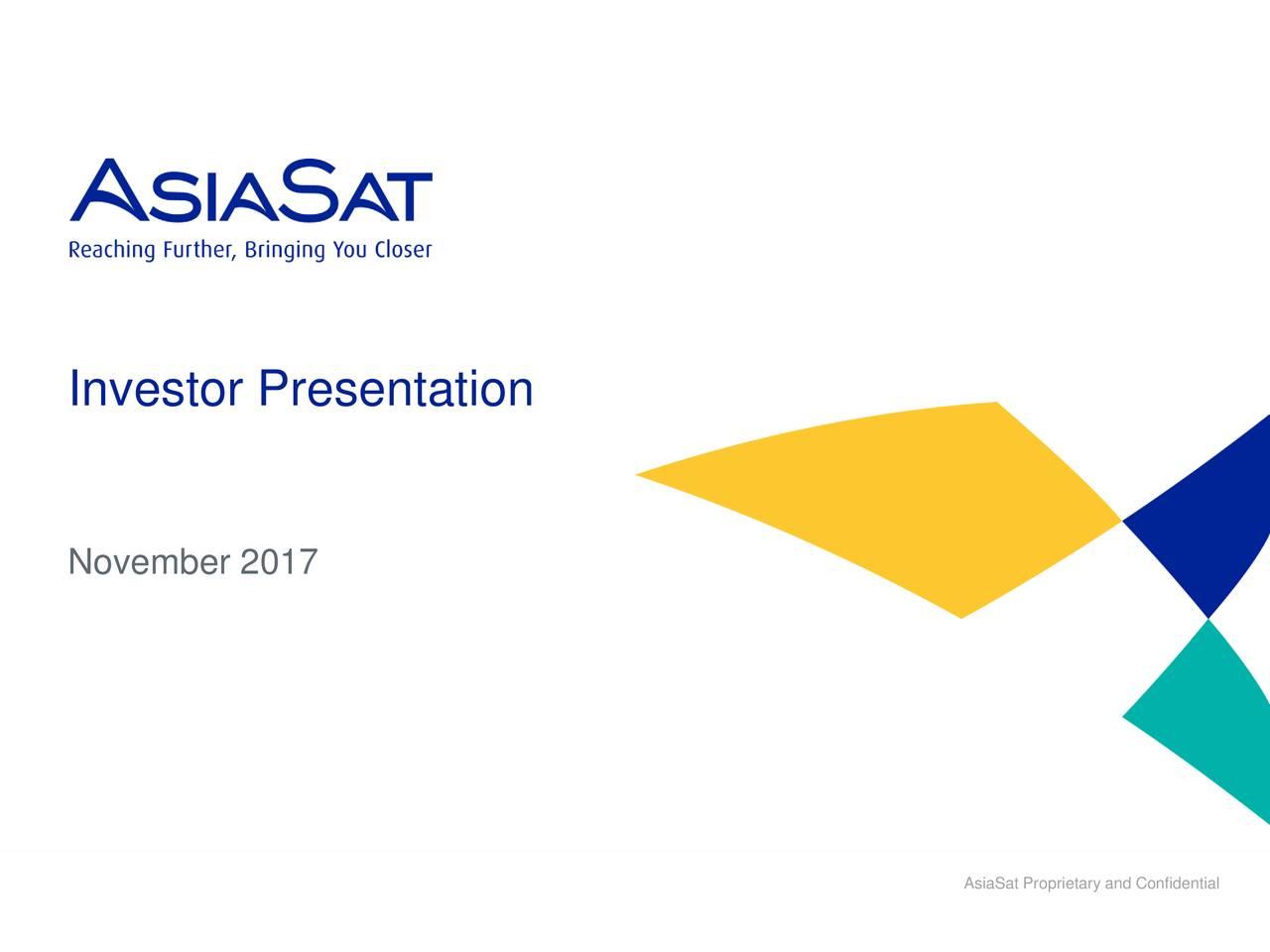 Asia Satellite Telecommunications (AISLF) Presents At