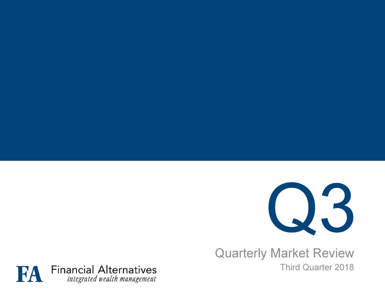Quarterly Market Review