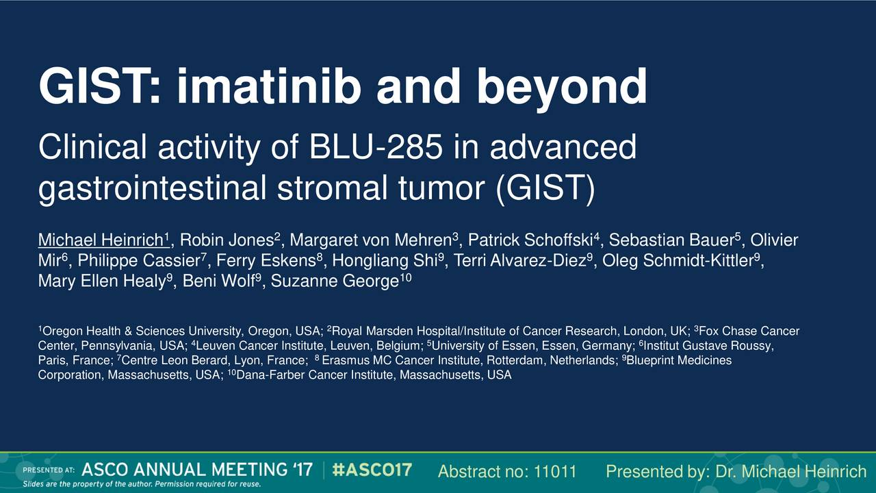 Blueprint medicines bpmc presents at asco 2017 advances in gist blueprint medicines bpmc presents at asco 2017 advances in gist slideshow blueprint medicines nasdaqbpmc seeking alpha malvernweather Image collections