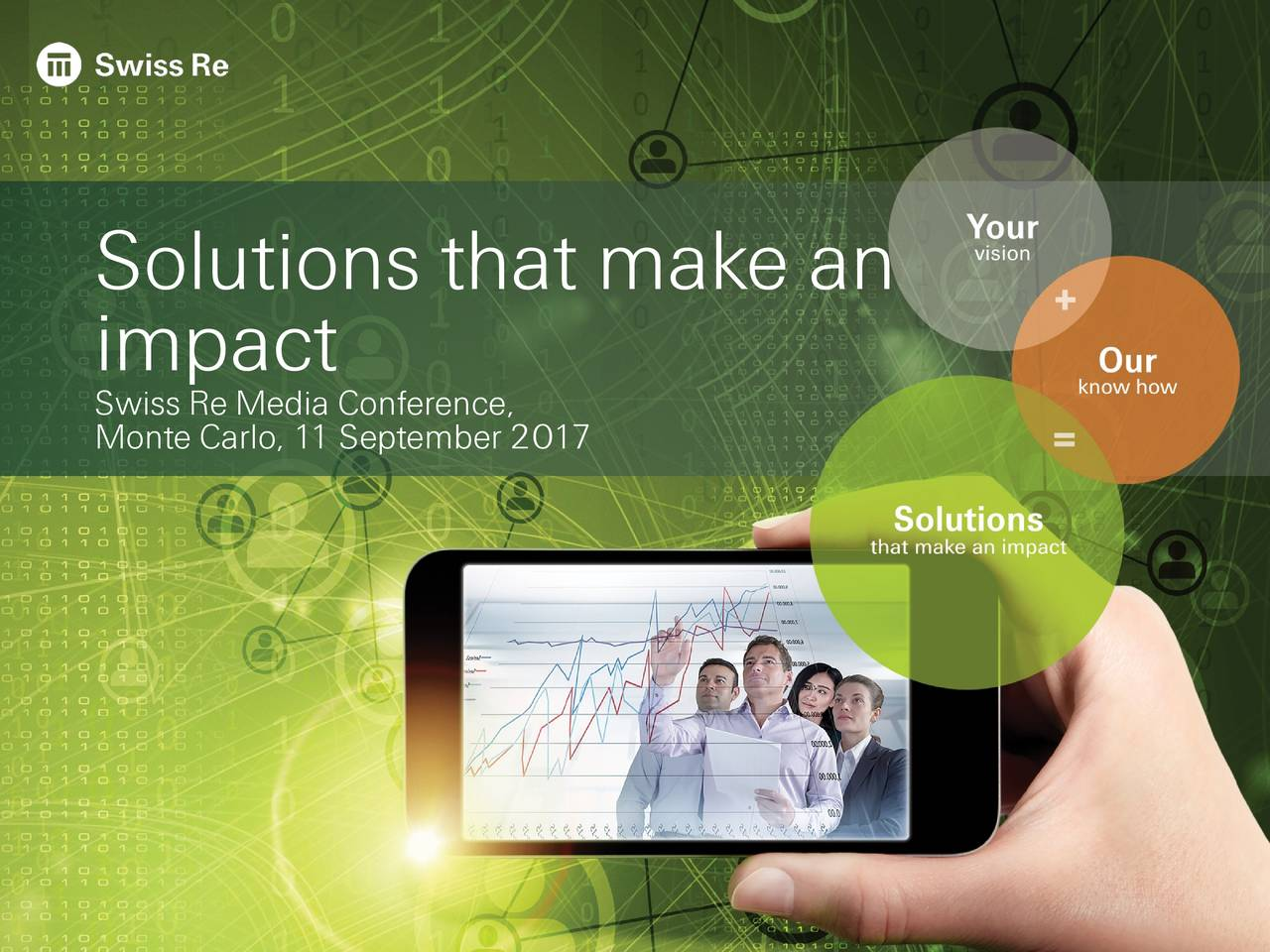 Swiss Re Media Conference, Monte Car1 September 2017