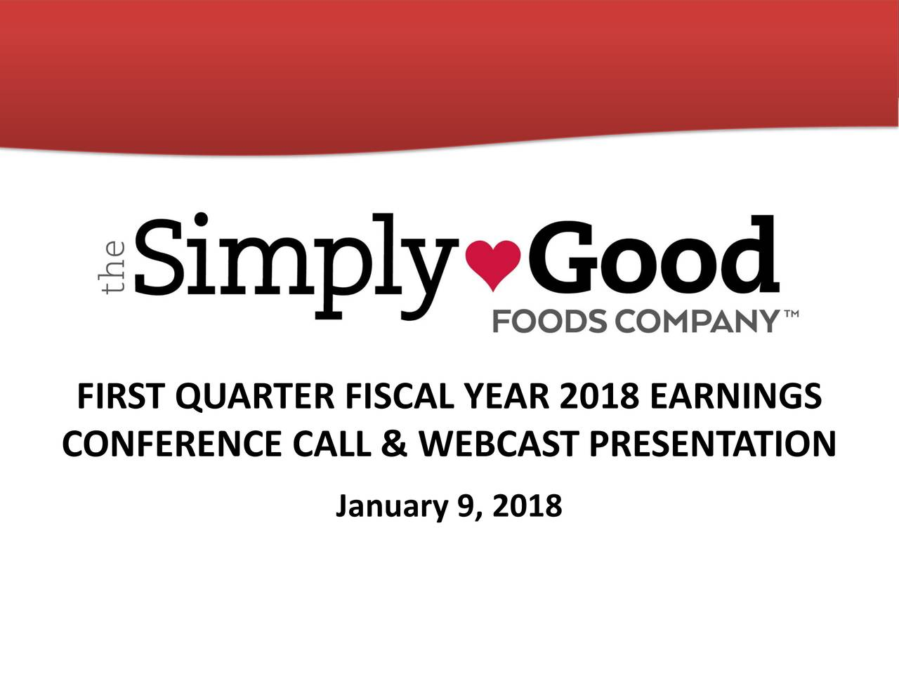 Simply good foods ipo