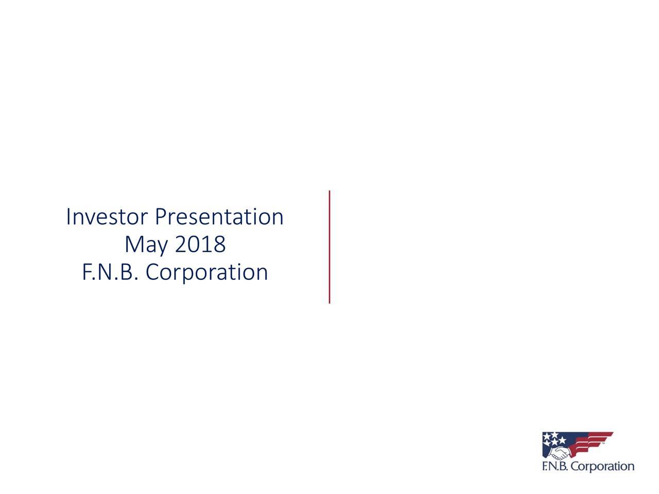 F N B  (FNB) Presents At 2018 Wells Fargo Financial Services